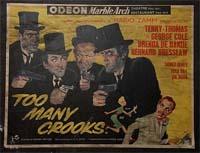 """Simbari - """"Too Many Crooks"""" Film Poster"""