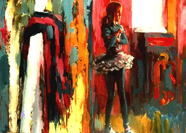 The Little Ballerina - Nicola Simbari