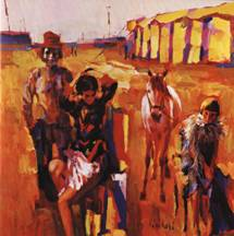 """The Circus Family"" - Nicola Simbari"