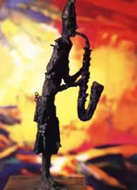 "Simbari - ""Clown au Saxophone"""